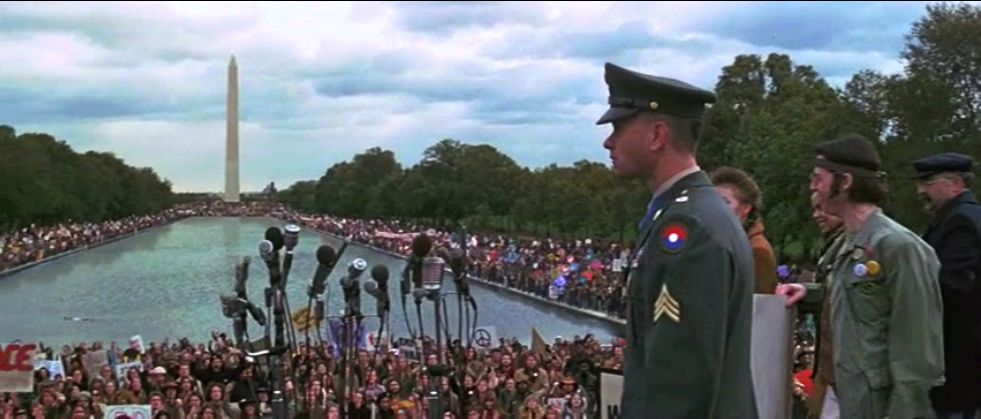 Forrest was fearless when he stepped up to the microphone in Washington, DC.