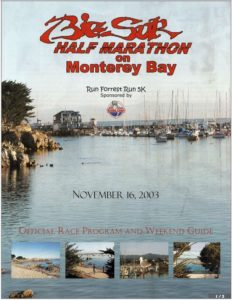 Big Sur Half Marathon with 5K Run Forrest Run featuring Steve Weber as Forrest Gump (November 16, 2003)