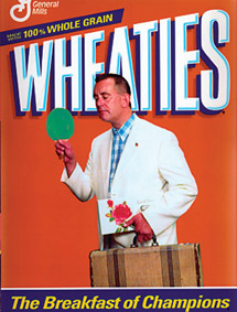 Unless you're putting me on the Wheaties box -- a 50% deposit is required