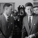 Pres Kennedy meets Forrest Gump at the White House