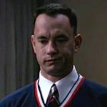 Forrest apologizes to Lt Dan for ruining his New Year's party. Lenore tasted like cigarettes.