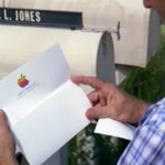 Forrest opens the letter indicating he owns stock in Apple