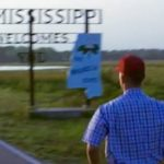 Forrest ran across town, then he ran across Greenbow County, and finally he ran across the state of Alabama