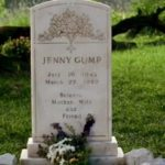Forrest laments at Jenny's grave and wishes that dying wasn't part of life