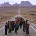When Forrest stops running he leaves all the following runners with nothing else to do