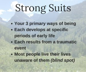Strong Suits (part 1) and a 4 bullet points description