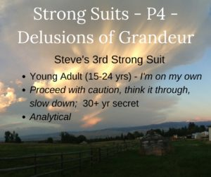 Strong suits - part 5 - Delusions of Grandeur