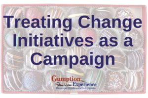 treating change initiatives as a campaign