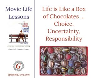 Life is Like a Box of Chocolates … Choice, Uncertainty, Responsibility