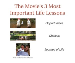The movie Forrest Gump's 3 Most Important Life Lessons