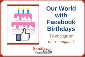 Our World with Facebook Birthdays