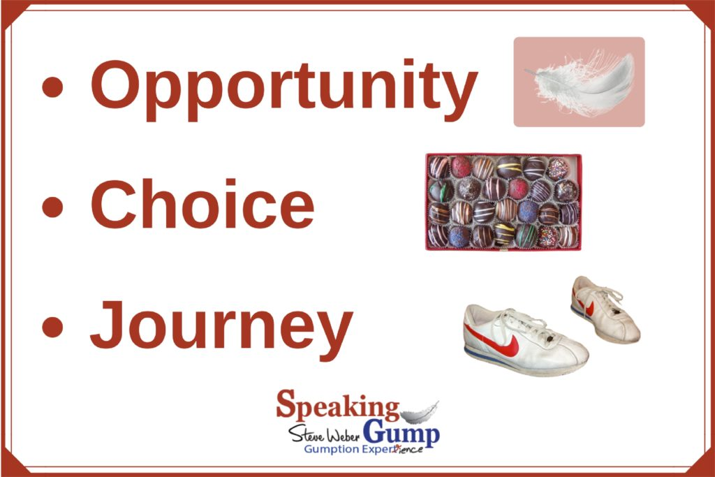 Opportunity, Choice, Journey