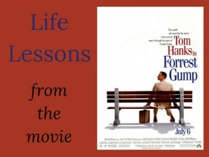 Life Lessons from the movie Forrest Gump (w/ movie poster)