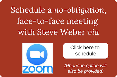 Schedule a Zoom meeting with Steve Weber button